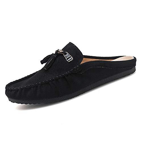 Zapatos de moda de cuero suave y cómodo para hombr Mocasín de...