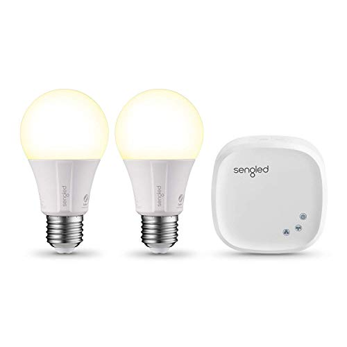 Sengled Element Classic, Kit de démarrage 2 ampoules LED connectées à intensité...