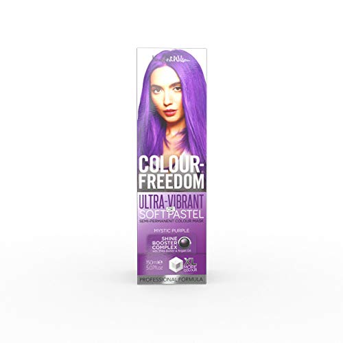 Knight & Wilson Colour Freedom - Colore per capelli ultra vibrante, viola mistico, non permanente