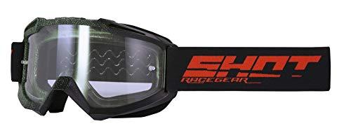 Shot Sun Elite Brille, Schwarz/Khaki matt