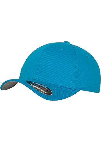 Original Flexit Baseball Cap Wooly Combed im Bundle mit Bandana | Hawaii Ocean | Gr. L/XL