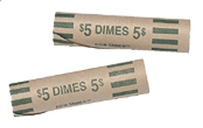 Guardhouse 100 Preformed Wrappers for 50 Dimes