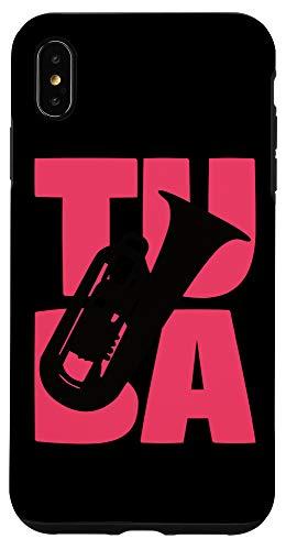 iPhone XS Max Vintage Tuba Girl Tuba Gift for Tuba Player Gift Girls Tuba Case