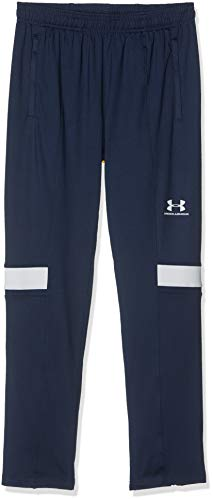 Under Armour Youth Challenger III Train Pant, enganliegende Jogginghose, leichte Sporthose Jungen, Academy / Halo Gray / Halo Gray , YL