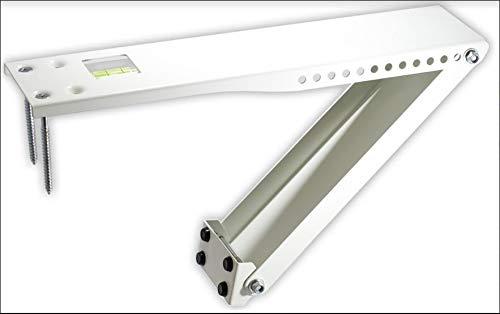 Universal Window Air Conditioner Bracket - 1pc Heavy-Duty Window AC Support - Support Air Conditioner Up to 160 lbs. - For 12000 BTU AC to 20000 BTU AC Units (HD 1PC ACB) (1, HEAVY DUTY- ONE ARM)