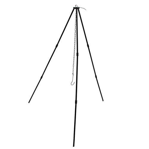 Sccarlettly Hängender Lagerfeuertopf Ständer Stativ Kochlaterne Aufhänger 3 Bein Grillständer Chic Sale Garten Täglich Gebrauch Produkt (Color : Colour, Size : Size)
