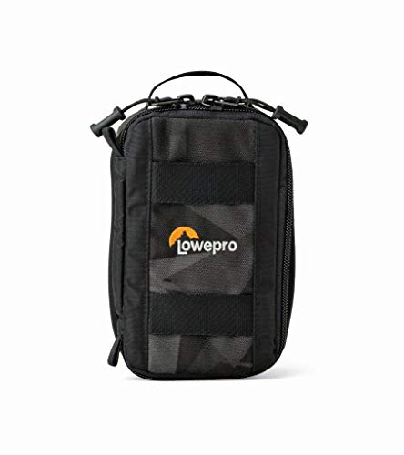 Lowepro LP36915 ViewPoint CS 40 - A Soft-Sided Protective Case for a Smartphone, GoPro or 360 Camera and Accessories,Black
