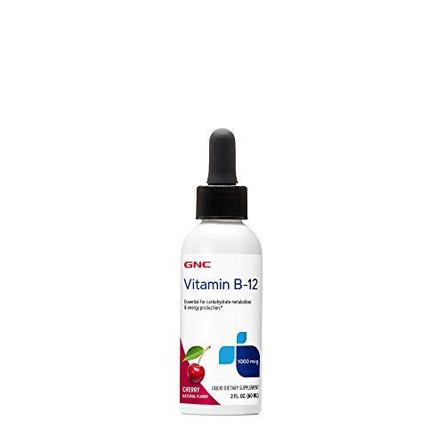 GNC Vitamin B-12 1000mcg - Cherry, Supports Energy Production
