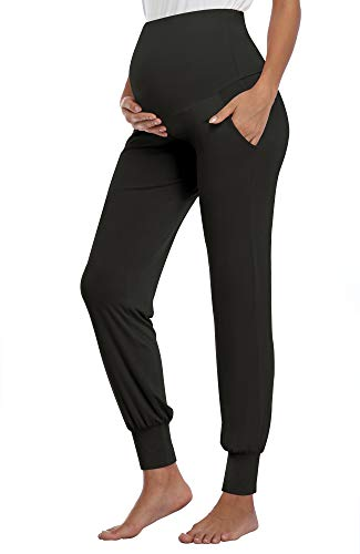 AMPOSH Women's Maternity Pants S...