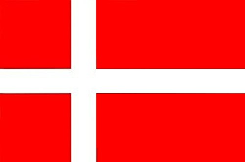 Gran Bandera de Dinamarca 150 x 90 cm Satén Europe Denmark Flag.
