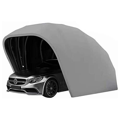 Tragbare Auto Garage Zelt, 5.9M Halbautomatisch, Teleskophydraulik Mobile Garage Zelt wasserdichte Anti-UV-Proof Windschnee Schwere Stahlrahmen