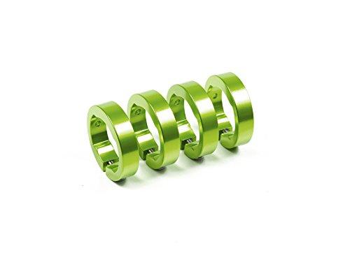 SixPack Racing Lock Color: Electric Green MTB Unisex Adulto