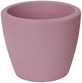 meindekoartikel /Übertopf Struktur in Pink oder Heidelbeere aus Keramik Verschiedene Gr/ö/ßen /Ø 11 cm, Gr/ün
