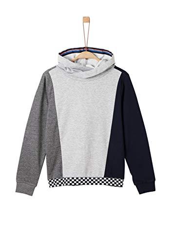s.Oliver Jungen 61.908.41.2773 Sweatshirt, Grau (Grey Melange 9400), (Herstellergröße:S/REG)
