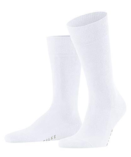 FALKE Herren Family M SO Socken, Weiß (White 2000), 43-46 (UK 8.5-11 Ι US 9.5-12)