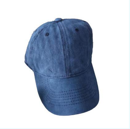 Wicemoon - Gorra de béisbol para hombre y mujer, diseño de boinas delanteras de algodón