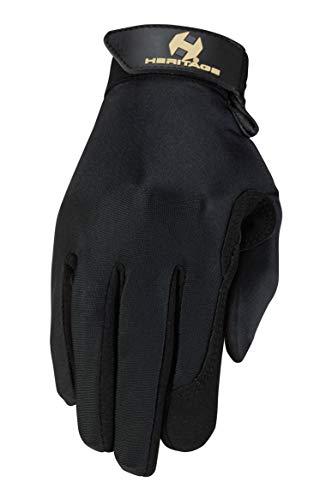 Heritage Performance Gloves, Size 7, Black