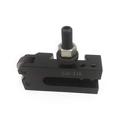 Kecheer Mini-draaimachine snijmeshouder voor snelwissel-gereedschaphouder, 6-dlg zuiger snelwissel-gereedschaphouder, boorboorgereedschap, 100-delige set voor 12 inch (CNC metalen draaimachine