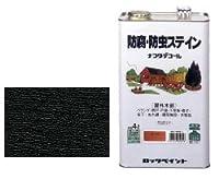 ロックペイント 油性ナフタデコール 4L ブラック
