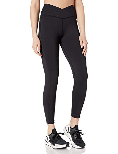Amazon Brand - Core 10 Women's Cross Waist Legging with Pockets- 26