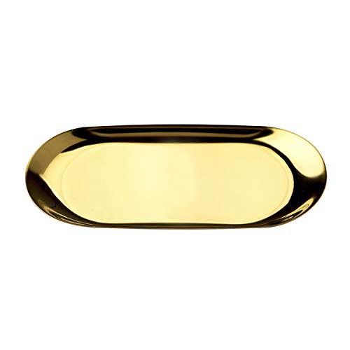 NX キャッシュトレイ コイントレイ おしゃれ 可愛い 小物置き コイントレー お会計皿 (ゴールド)
