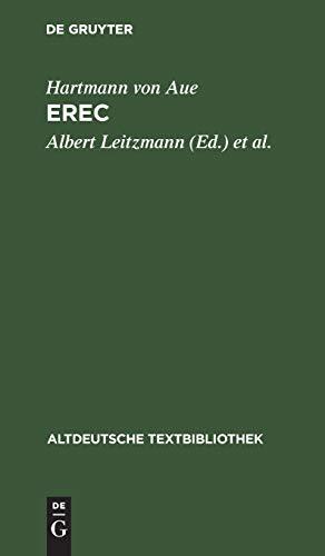 Altdeutsche Textbibliothek, Nr.39, Erec