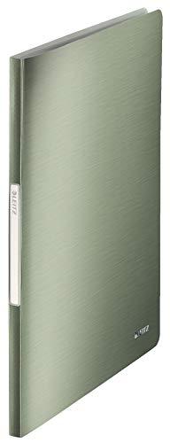 Leitz 39590053 Sichtbuch Style Sichtbuch Style, A4, PP, 40 Hüllen, seladon-grün