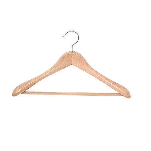 Proman Products Taurus Wide Shoulder Suit Hanger, Set of 12
