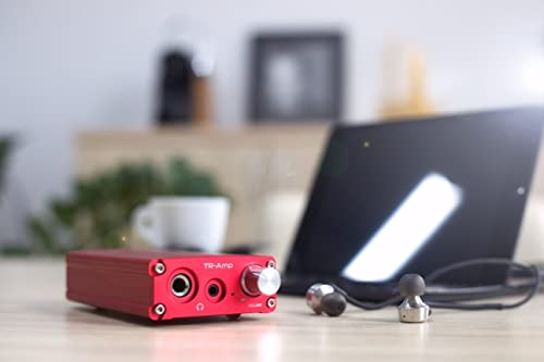EarMen TR-Amp High-Performance Portable USB DAC and Preamp, with Built-in Headphone Amp - PCM, DOP, DSD64, DSD128, and MQA