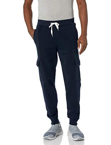 Southpole Men's Big & Tall Basic Active Fleece Jogger Pants, NNY, 3XB