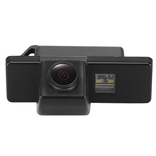 Kalakus Caméra de Recul de Plaque D'immatriculation, Vision Nocturne Système de Stationnement pour Nissan AQSHQAI/X-TRAIL/Geniss/Navara/Pathfinder /Dualis Citroën/ Hatchback/Sunny Peugeot 307