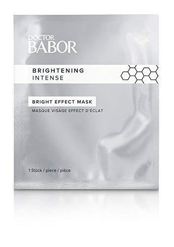 DOCTOR BABOR Bright Effect Mask, für einen hell-strahlenden Teint nach 15 Minuten, Fließmaske, 5 Stück