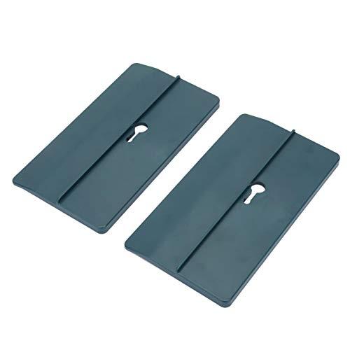 Deckeninstallationswerkzeug, 2-tlg. ABS-Deckenmontagebrett Trockenbauhalterung für die Deckeninstallation Innendekoration 5,91 x 3,15 Zoll