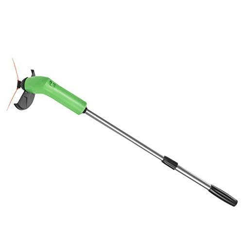Kongqiabona-UK Recortadora de jardinería, pequeña Recortadora de malezas, cortadora de césped, cortadora de césped, cortadora de césped portátil, accionamiento eléctrico de Alta Velocidad