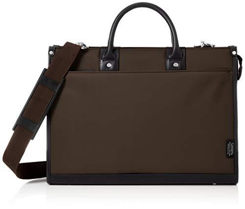 [ギャッツビー] メンズビジネスバッグ 撥水加工 A4対応 手提げ・肩掛け2WAY GB-301 チョコ
