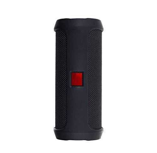 Gmgod❤️❤️for Jbl FLIP 4 Bluetooth Speaker Portable Mountaineering Silicone Case (Black)