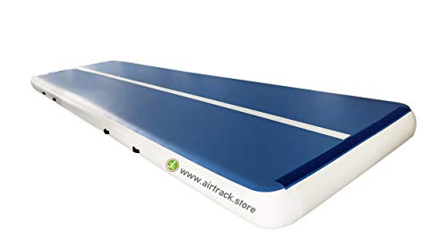 Airtrackfactory AirTrack P3 Mat Pro Air-Filled Tumbling Floor, Inflatable Gymnastics Mat and Parkour Mat, Blow Up Tumble Track - (9.2 Feet Width x 12 Inch Height), Various Length