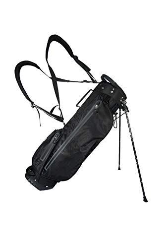 Impermeabile 19,1cm Golf Stand Bag–Nero/Antracite
