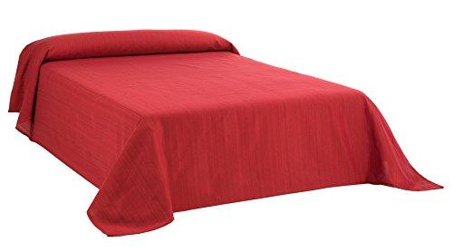 Martina Home Ribera Foulard Multiusos / Plaid, Tela, Rojo, 300 x 270 cm