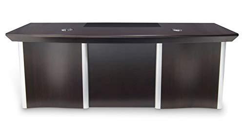 Lincoln Executive Dark Wood Desk