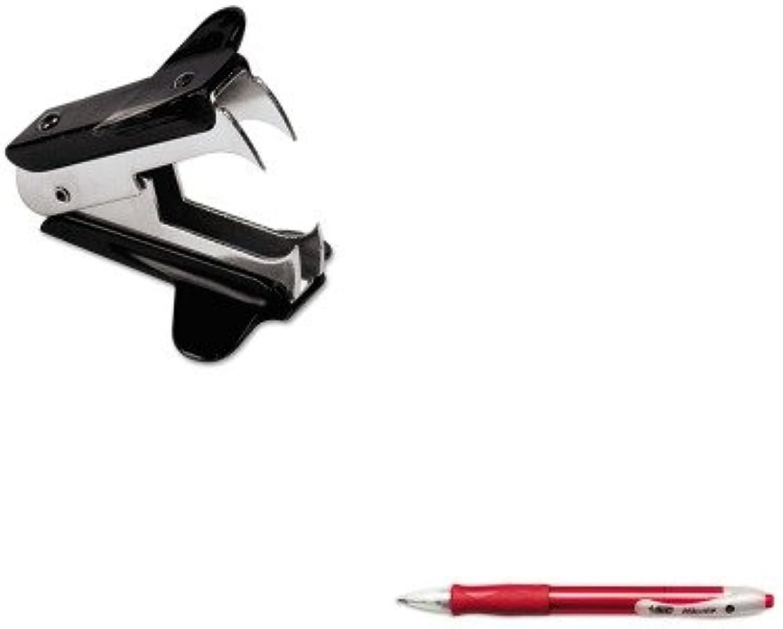 Kitbicvlg11rdunv00700 – Value Kit – Bic Velocity Velocity Velocity Kugelschreiber Einziehbarer Stift (bicvlg11rd) und Universal Jaw Stil Staple Remover (unv00700) B00MOQ12CS | Shopping Online  4e040c