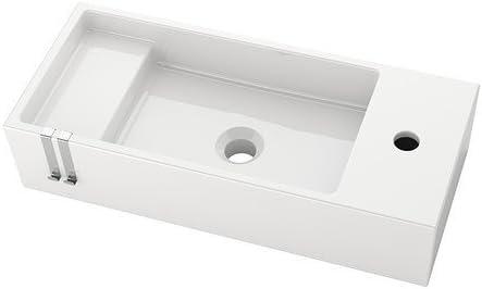 Ikea Lillangen Basin In White 60x27x14 Cm Amazon De Home Kitchen