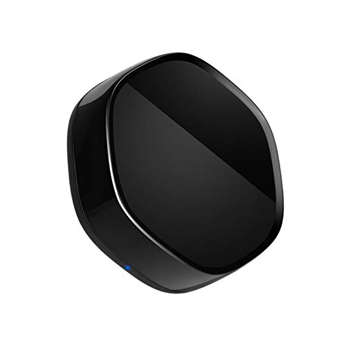 Control remoto WiFi, Home Mini Smart Switch 2.4GHz WiFi IR infrarrojo control remoto para TV Set Top Box - Negro