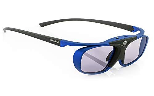 Hi-Shock® 3D-BT Pro Deep Heaven Active Gafas 3D para 3DTV