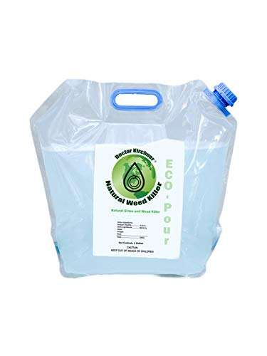Doctor Kirchner Natural Weed & Grass Killer (1 Gallon) ECO-Pour No Hormone Disrupting Chemicals