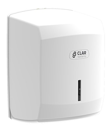 Clar Systems M1100PB Dispensador de Papel Mecha, Blanco