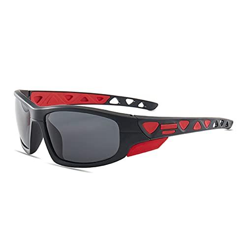 Afang Gafas Ciclismo Polarizadas Sol Deportivas, Montura Bicicleta Hombres Mujeres Gafas Sol+UV400 Protección, Escalada Pesca Conducción Golf,A