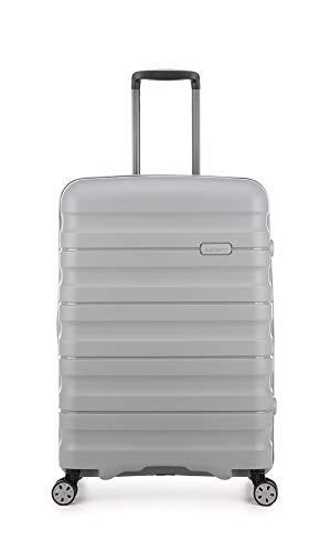 Antler Lincoln Medium Suitcase 4 Wheels | Hard Shell Suitcase | Medium Luggage | Spinner Suitcase with Wheels | Lightweight Suitcase | Travel Luggage | Suitcase Sets | Branded