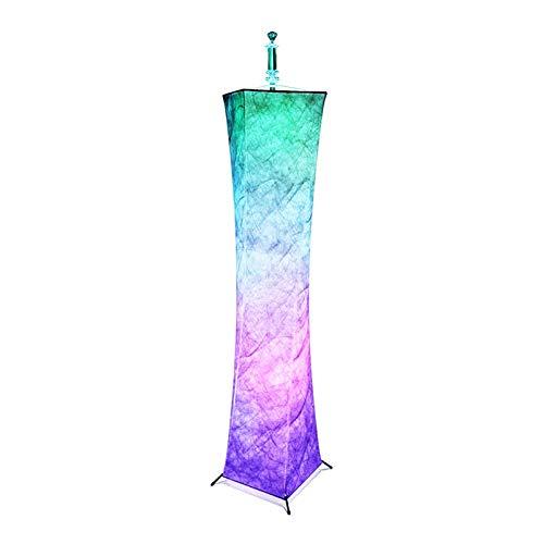 Raheem Lámpara de pie Lámparas de pie dimmable Altas para Sala de Estar Control Remoto Color cambiante LED estándar Lámpara de pie Libre para Sala de Estar/jardín/Oficina y Uso de la Fiesta