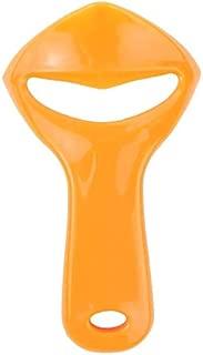 MZD orange peeler Citrus Orange Opener Peeler Slicer Cutter Plastic Lemon Fruit Skin Remover citrus peeler (Orange)